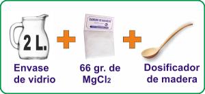 preparado cloruro magnesio